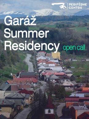 Open Call – Letná Rezidencia vGaráži