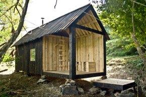 Sauna Kunstdorf – H3Tarchitekti