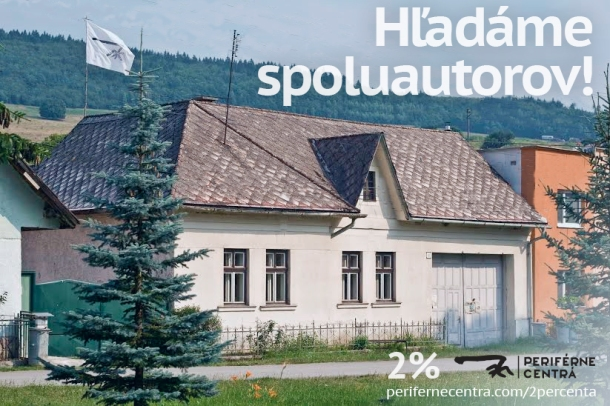 Dom U gazdov - sídlo Periférnych centier