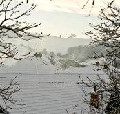 Unimo nad Dúbravicou v januári 2013